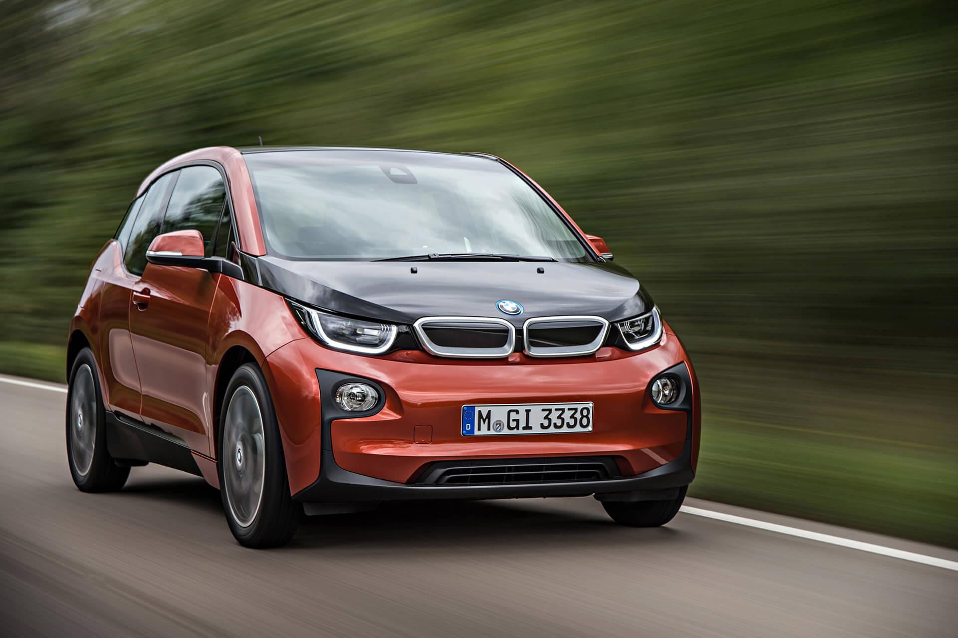 Электромобиль BMWi3 — № 9 по продажам за август в мире