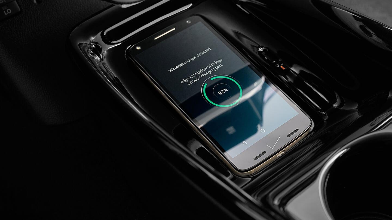Беспроводная зарядка в Toyota Prius Prime 2017