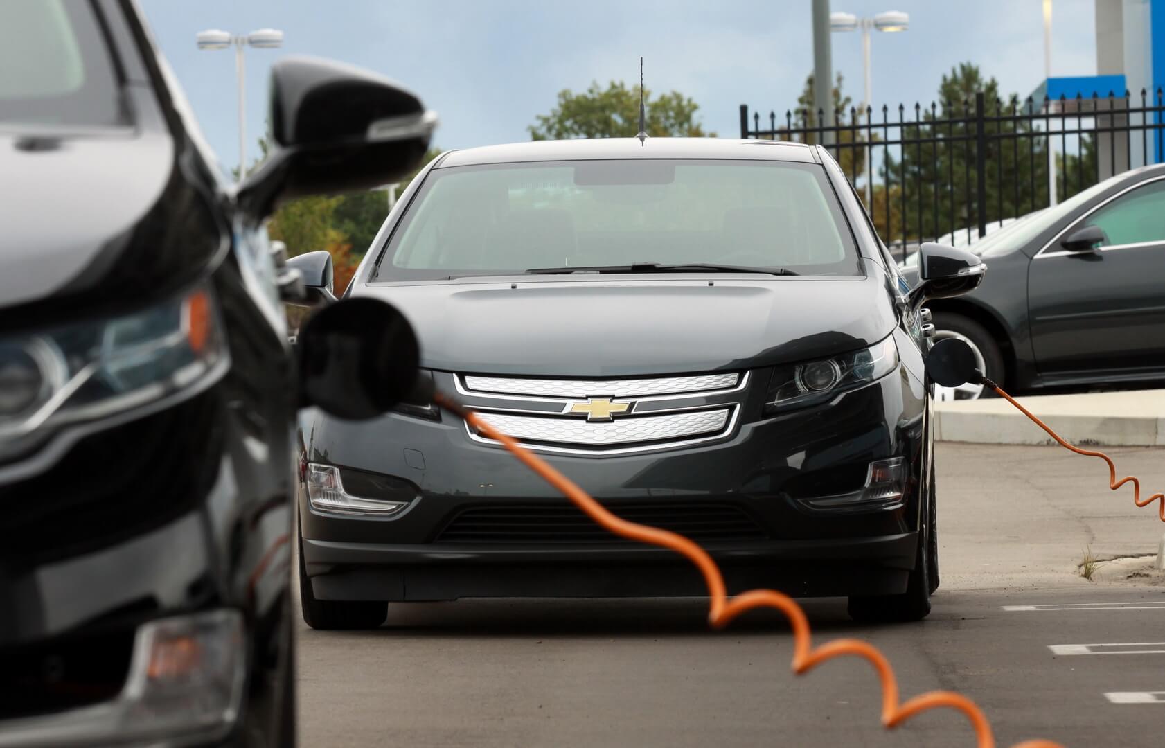 Фотография экоавто Chevrolet Volt 2011 - фото 7