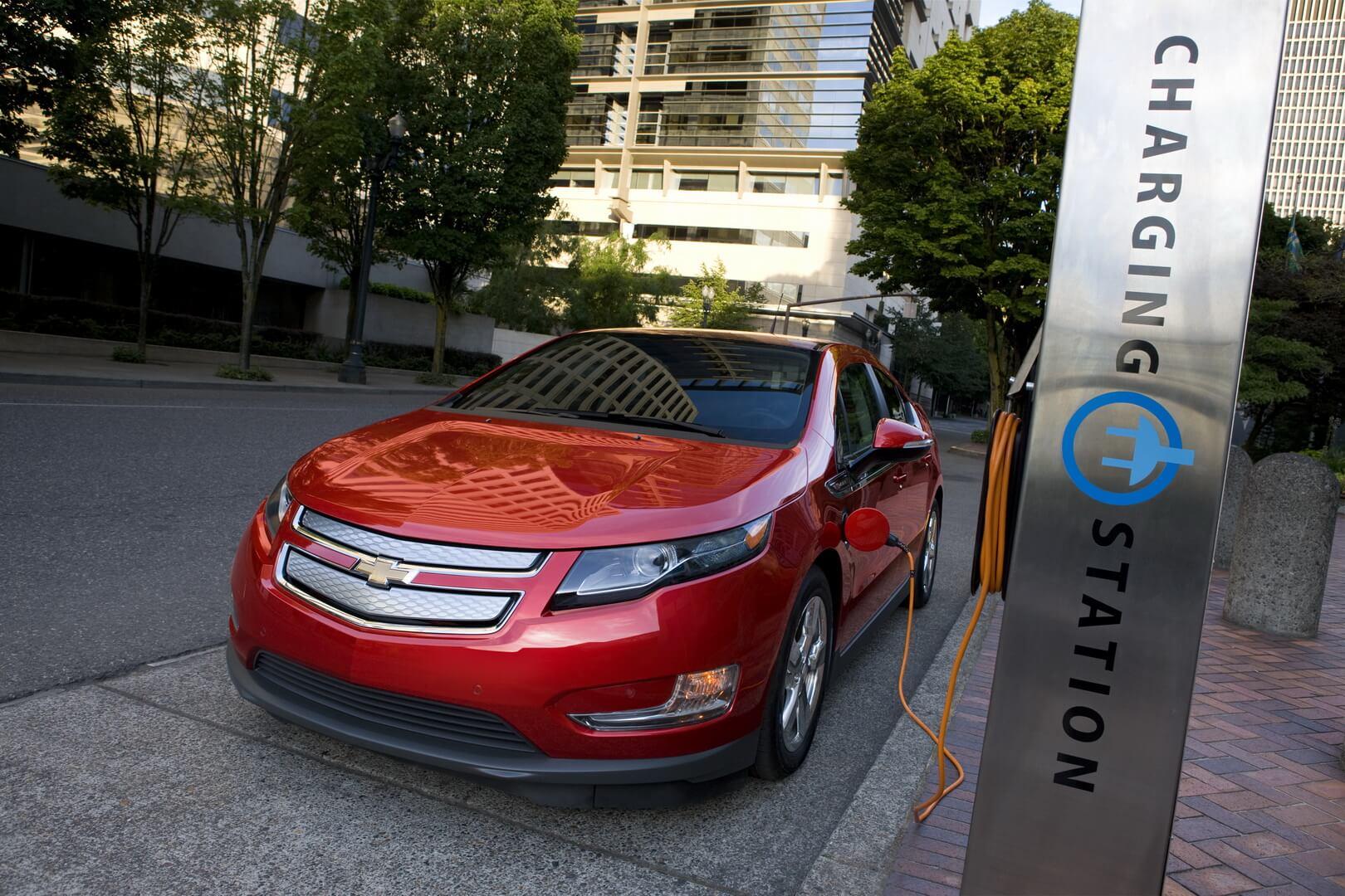 Фотография экоавто Chevrolet Volt 2011 - фото 15