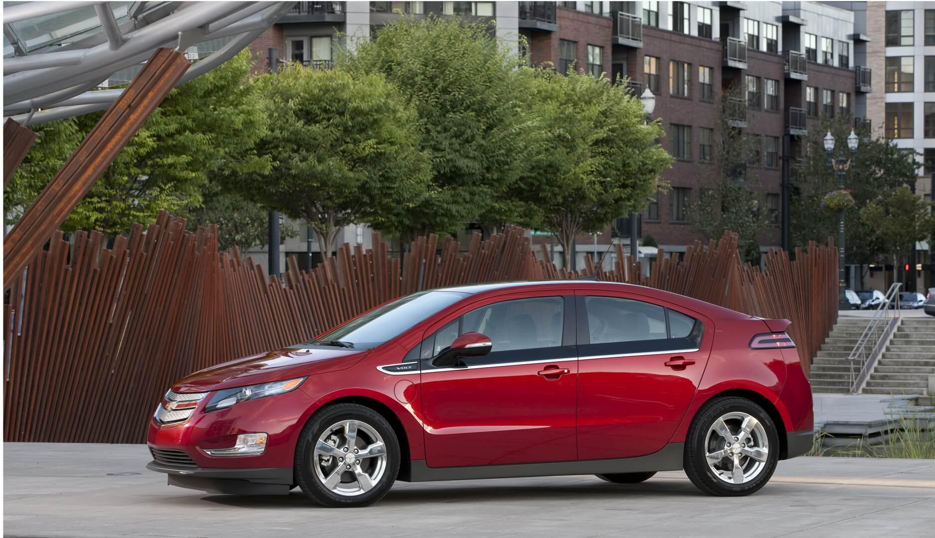 Фотография экоавто Chevrolet Volt 2011 - фото 41