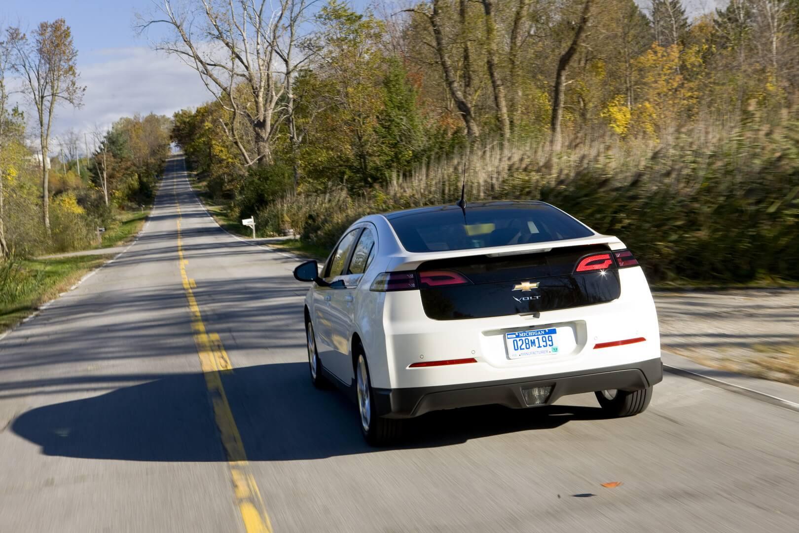Фотография экоавто Chevrolet Volt 2011 - фото 48