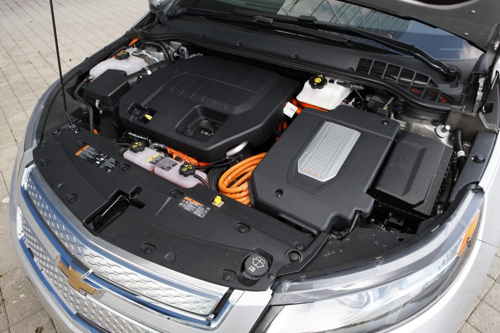 Фотография экоавто Chevrolet Volt 2011 - фото 67