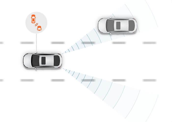 Адаптивный интеллигентный круиз-контроль в Hyundai IONIQ Electric
