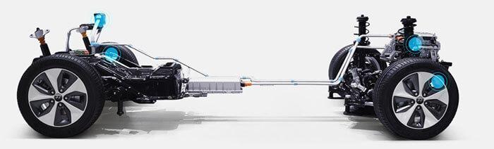 Силовая установка Hyundai IONIQ Electric