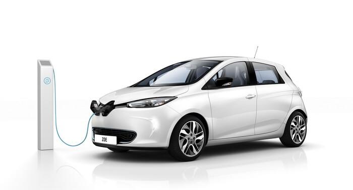 Renault ZOE 2012 года