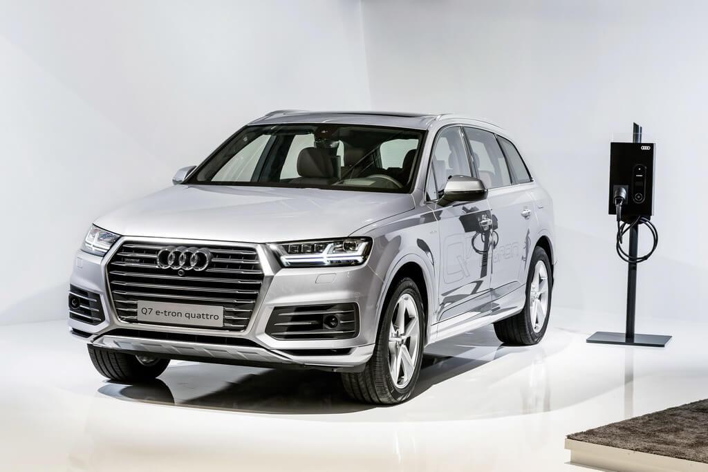 Фотография экоавто Audi Q7 e-tron Quattro - фото 28