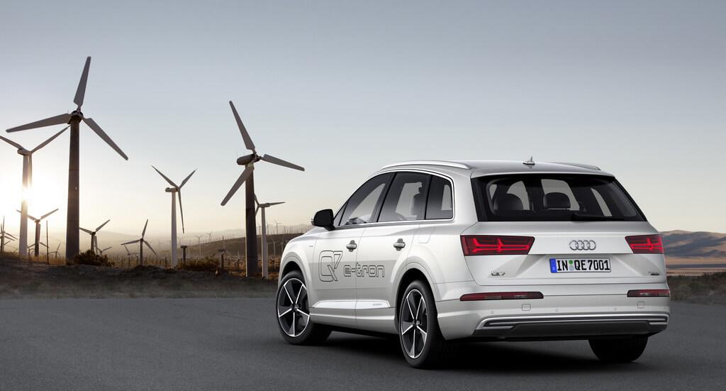 Фотография экоавто Audi Q7 e-tron Quattro - фото 38