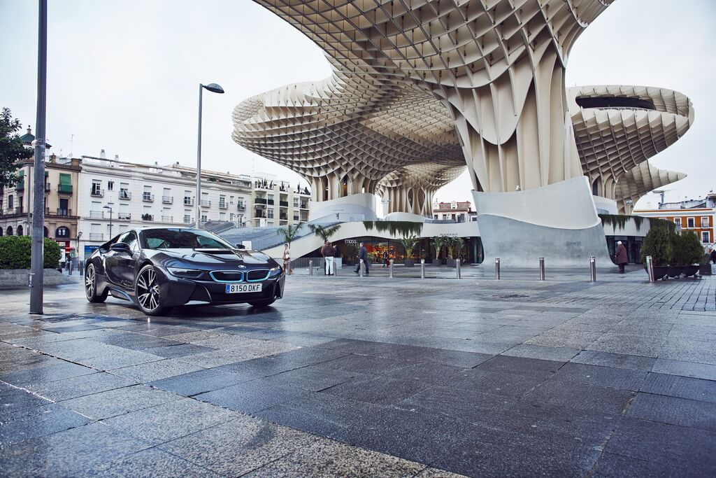 Фотография экоавто BMW i8 - фото 40