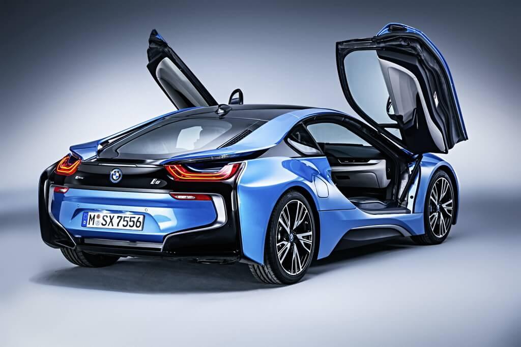 Фотография экоавто BMW i8 - фото 49