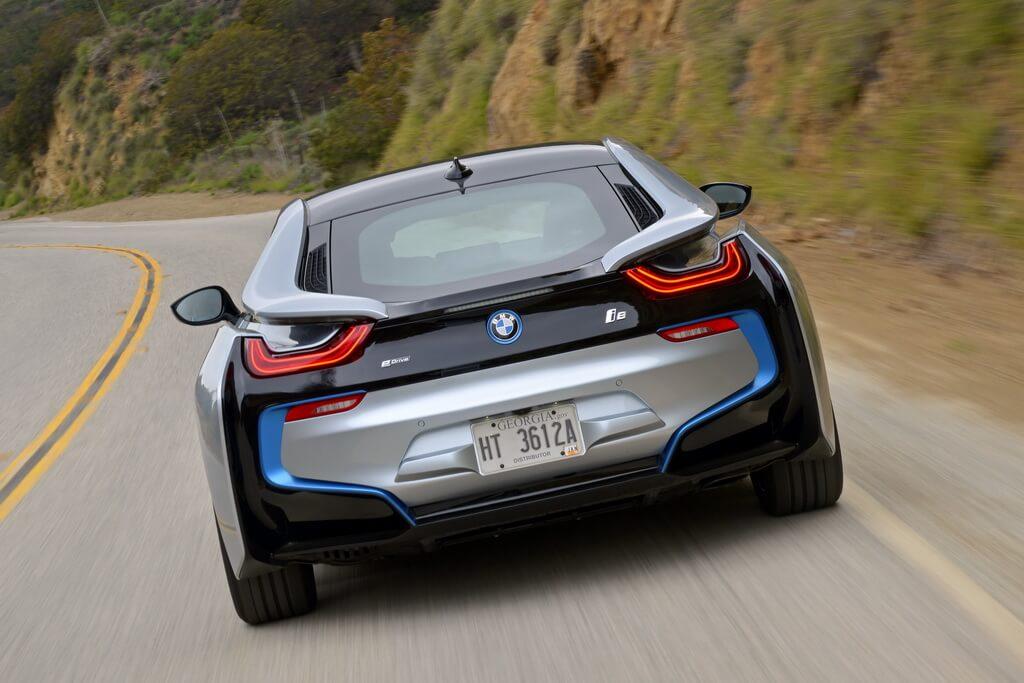 Фотография экоавто BMW i8 - фото 79