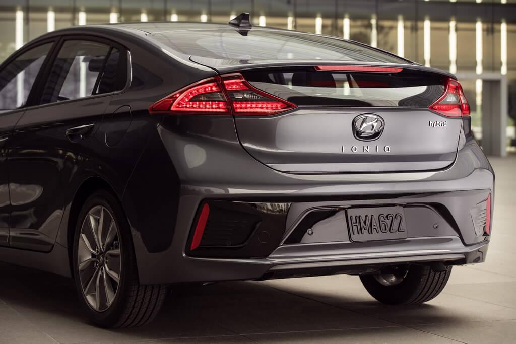Фотография экоавто Hyundai Ioniq Hybrid - фото 34