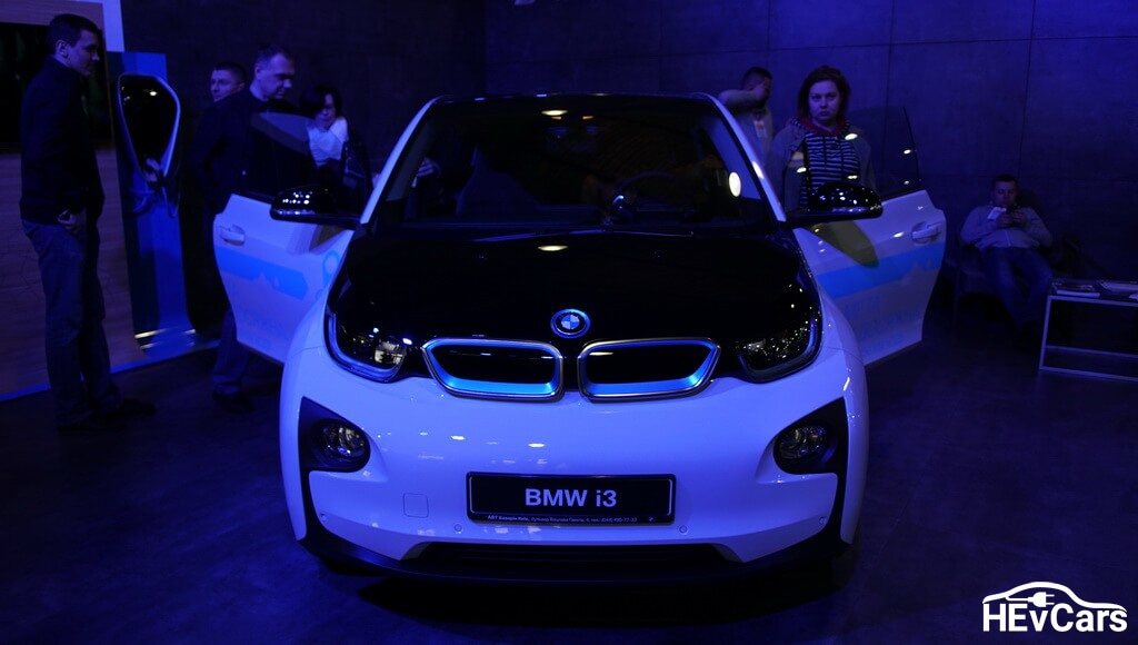 BMW i3 (94 Ah) на выставке Plug-In Ukraine 2017