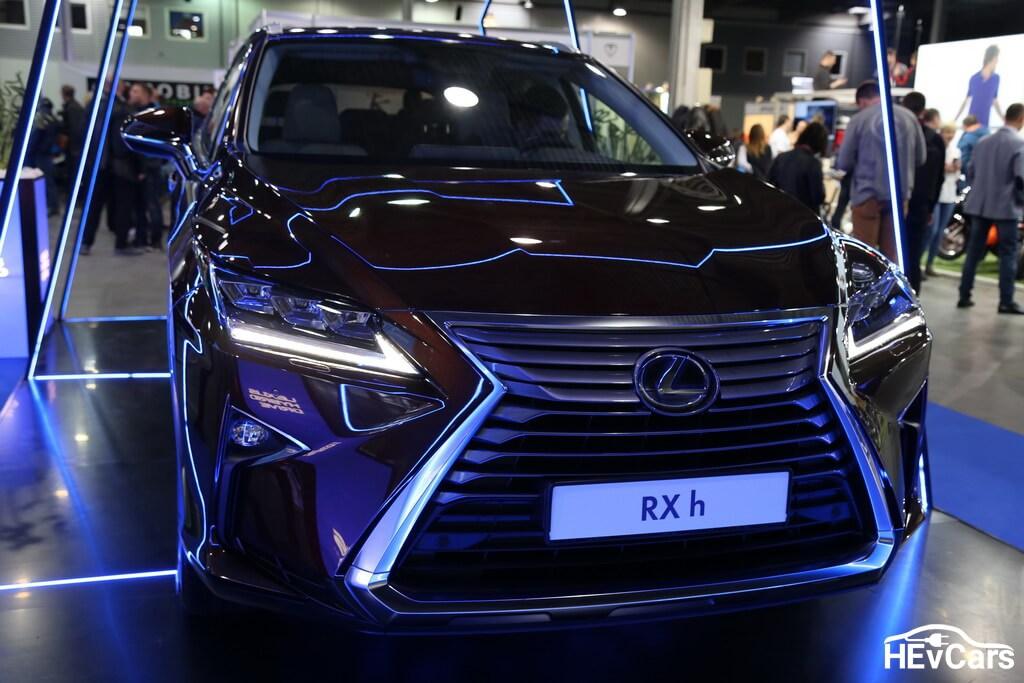 Lexus RX 450h на выставке Plug-In Ukraine 2017