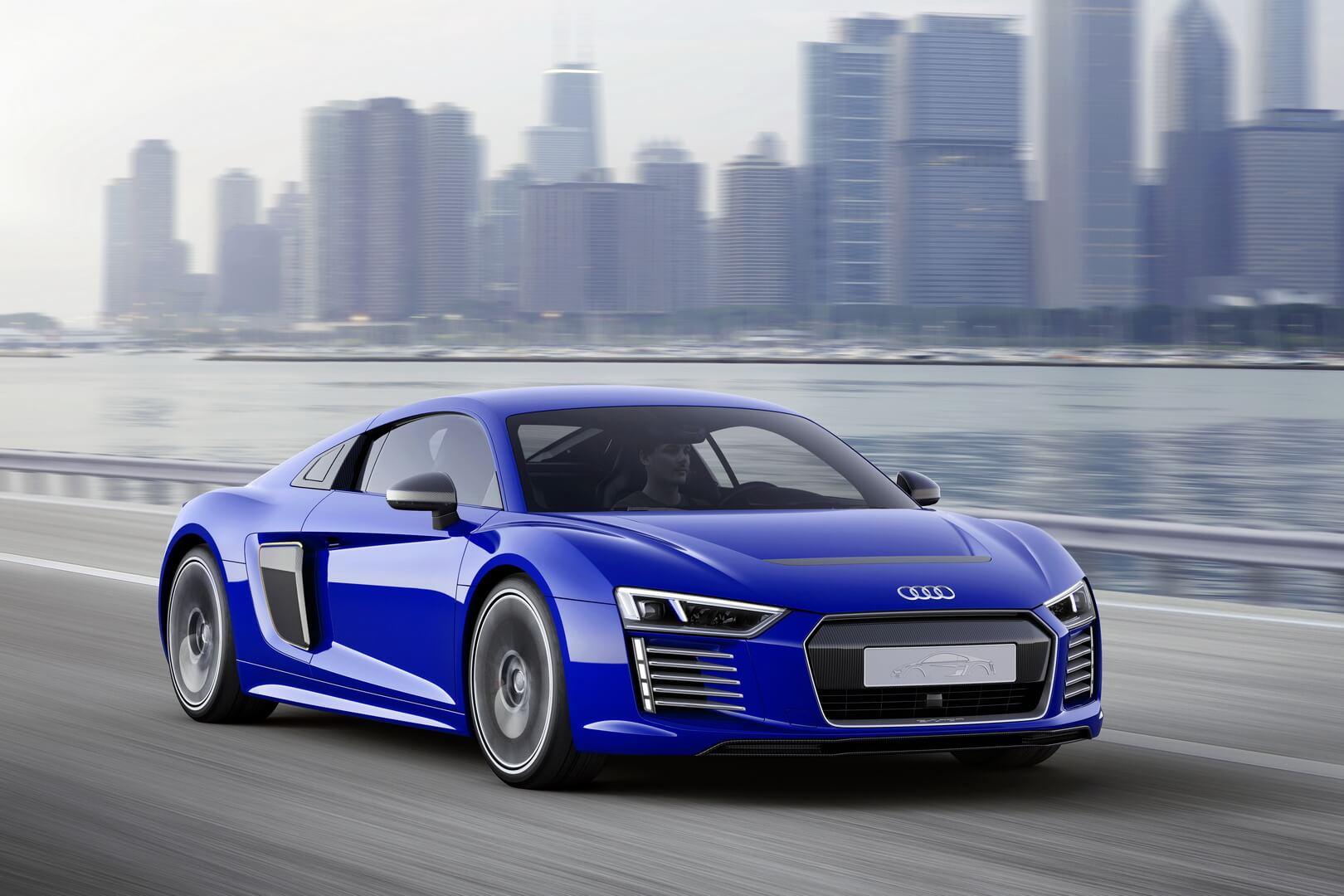 Фотография экоавто Audi R8 e-tron - фото 3