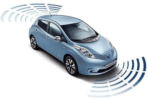 Безопасность пешеходов Nissan Leaf