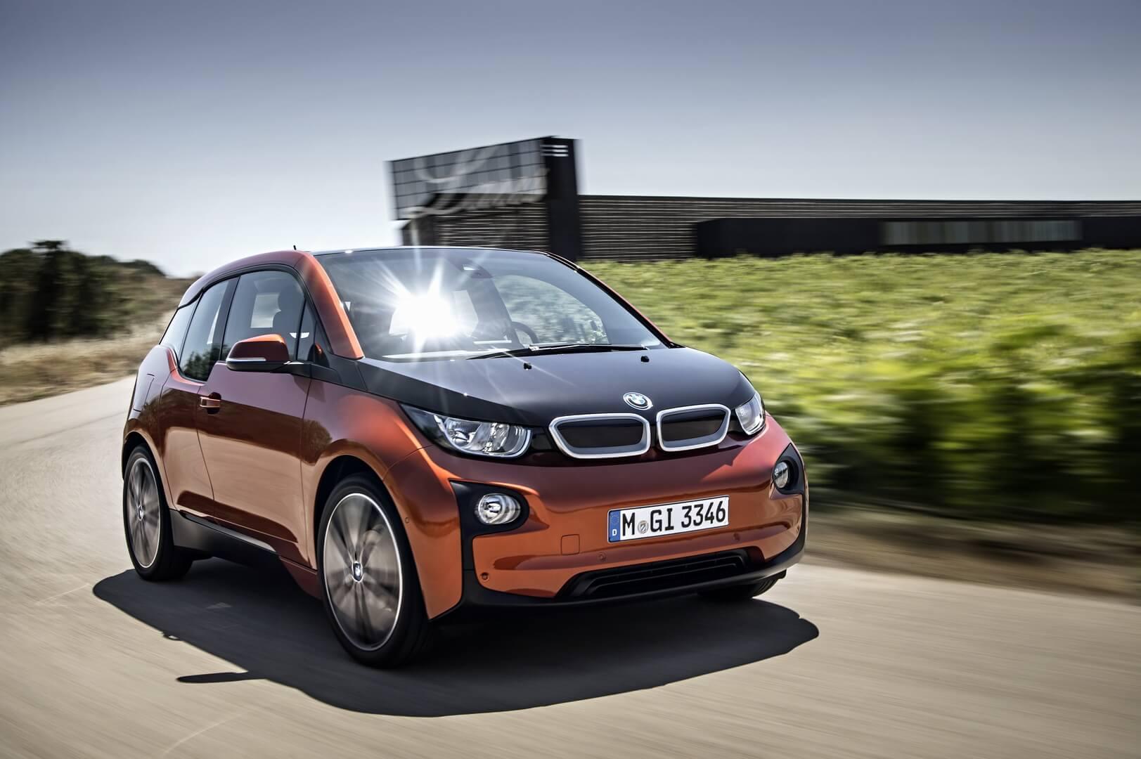 BMW i3 – серийный премиальный электромобиль