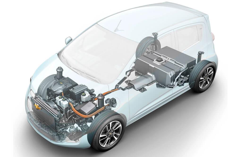 Силовая установка Chevrolet Spark EV