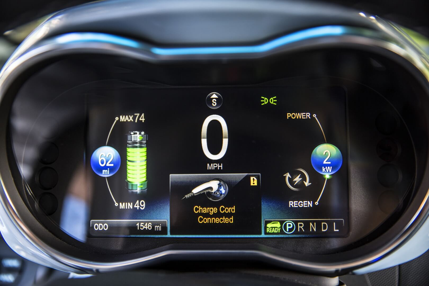 Фотография экоавто Chevrolet Spark EV - фото 30