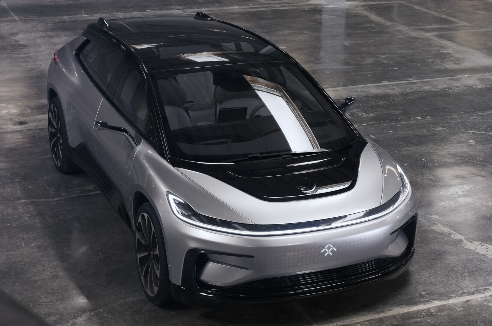 Электромобиль Faraday Future FF 91