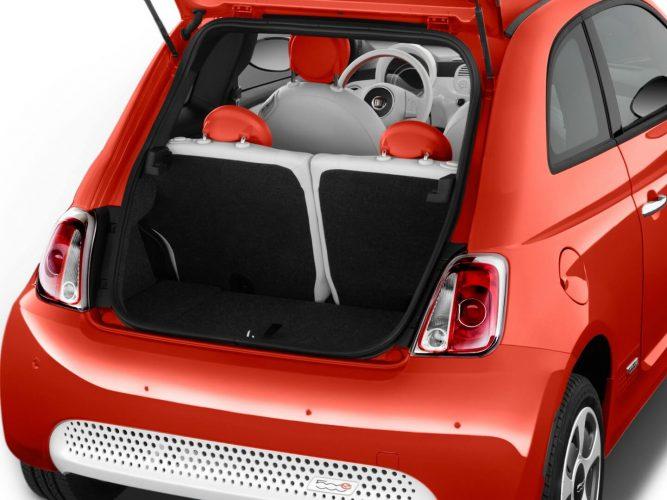 Багажник Fiat 500e