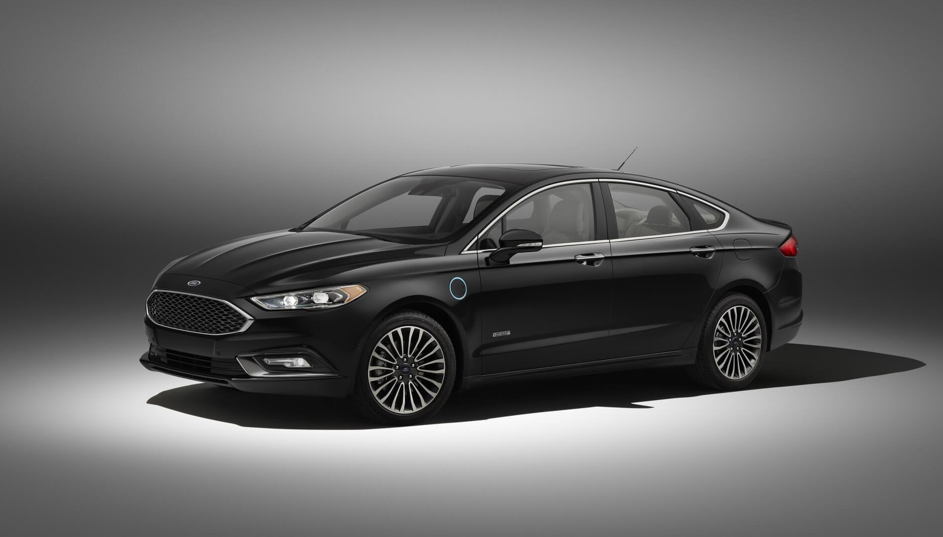Плагин-гибрид Ford Fusion Energy