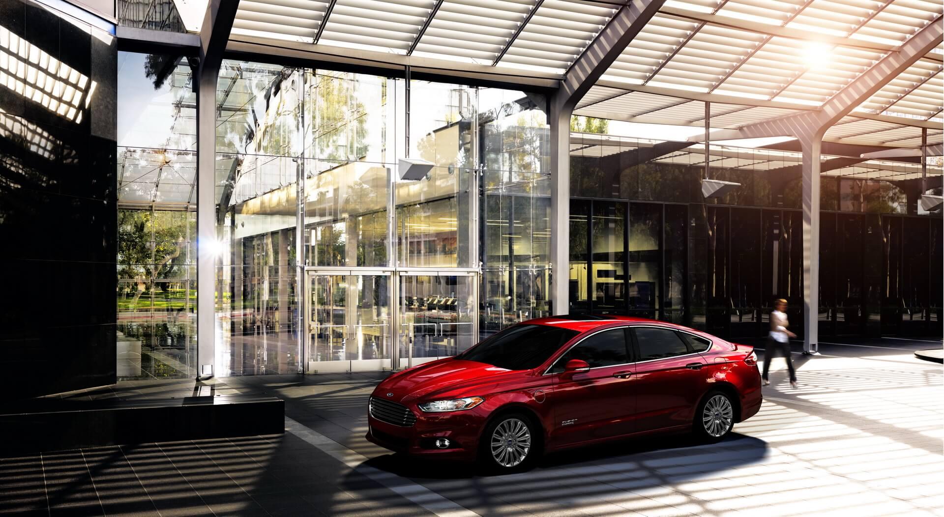 Фотография экоавто Ford Fusion Energi SE - фото 6