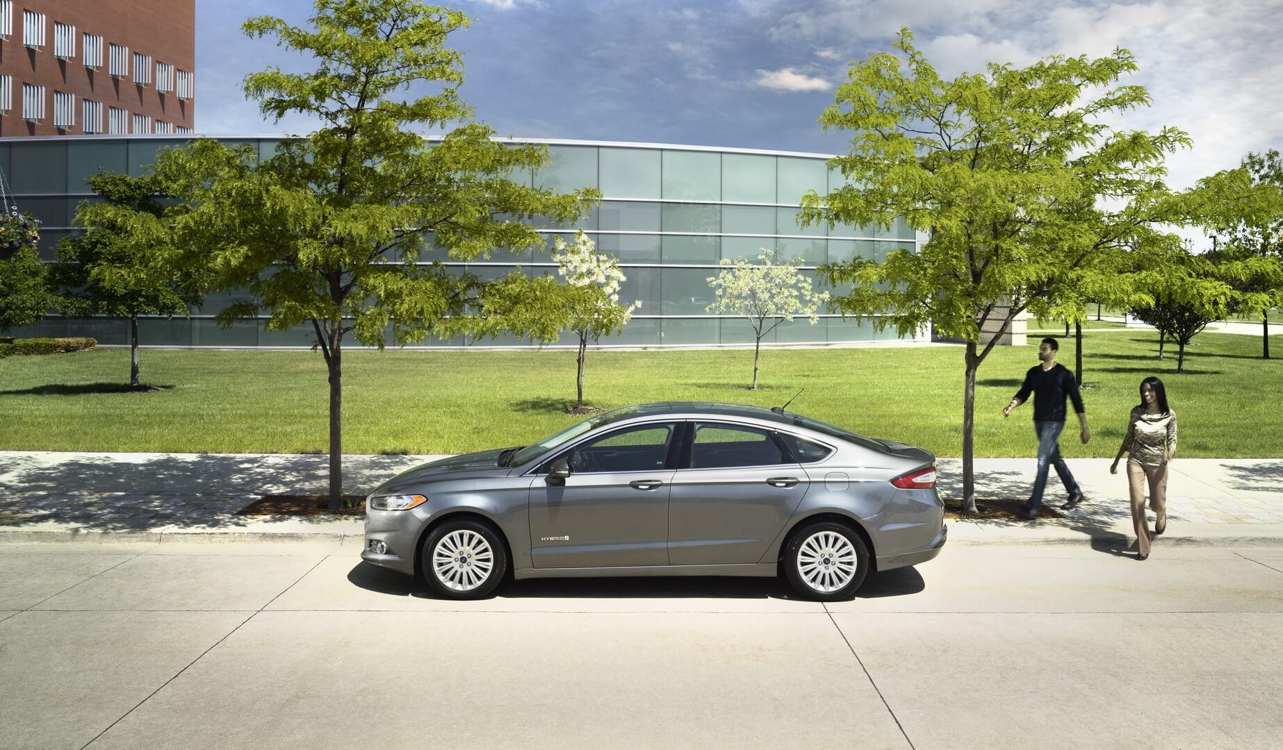Фотография экоавто Ford Fusion Hybrid SE - фото 8