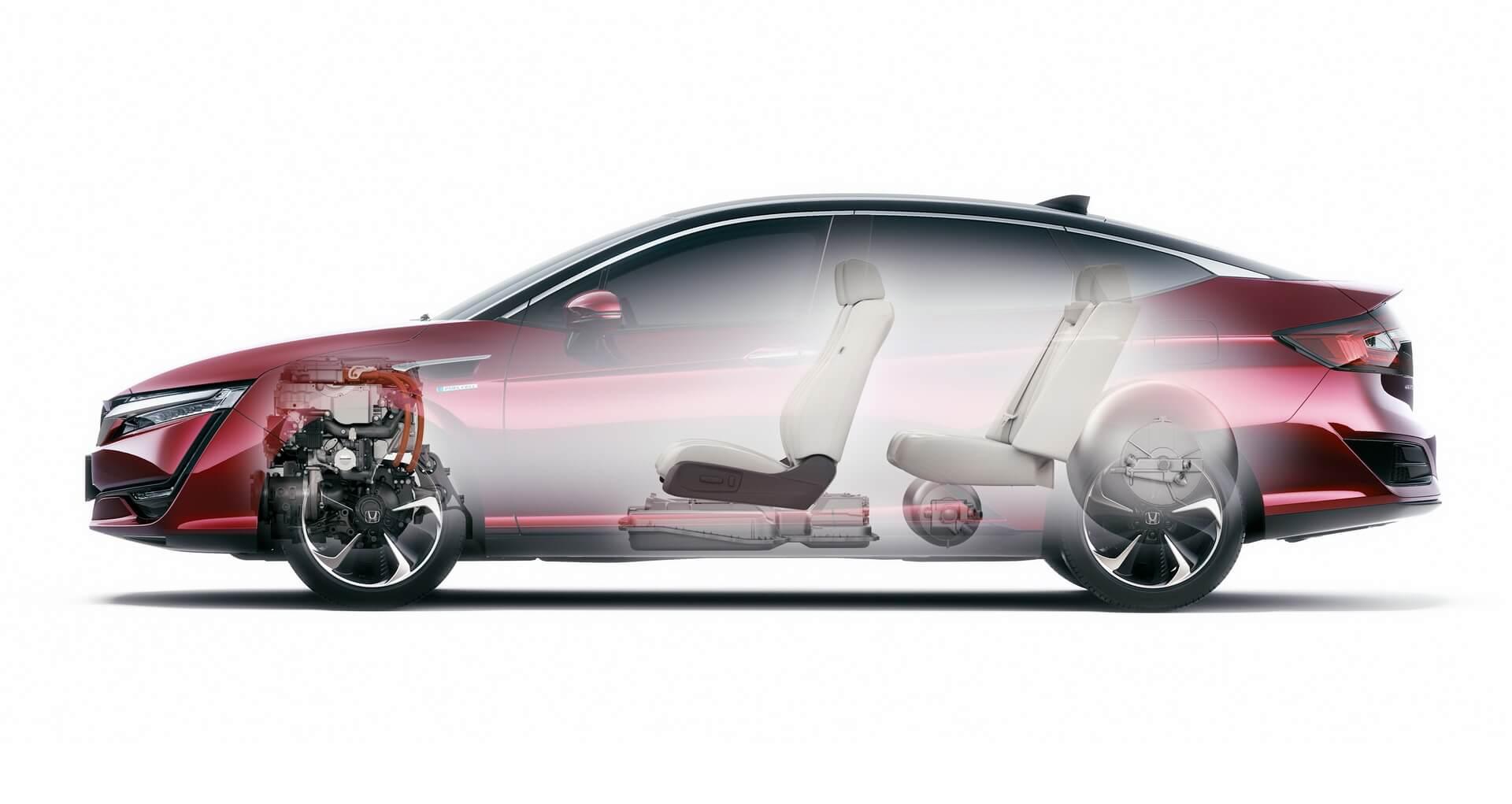 Фотография экоавто Honda Clarity FCV - фото 11