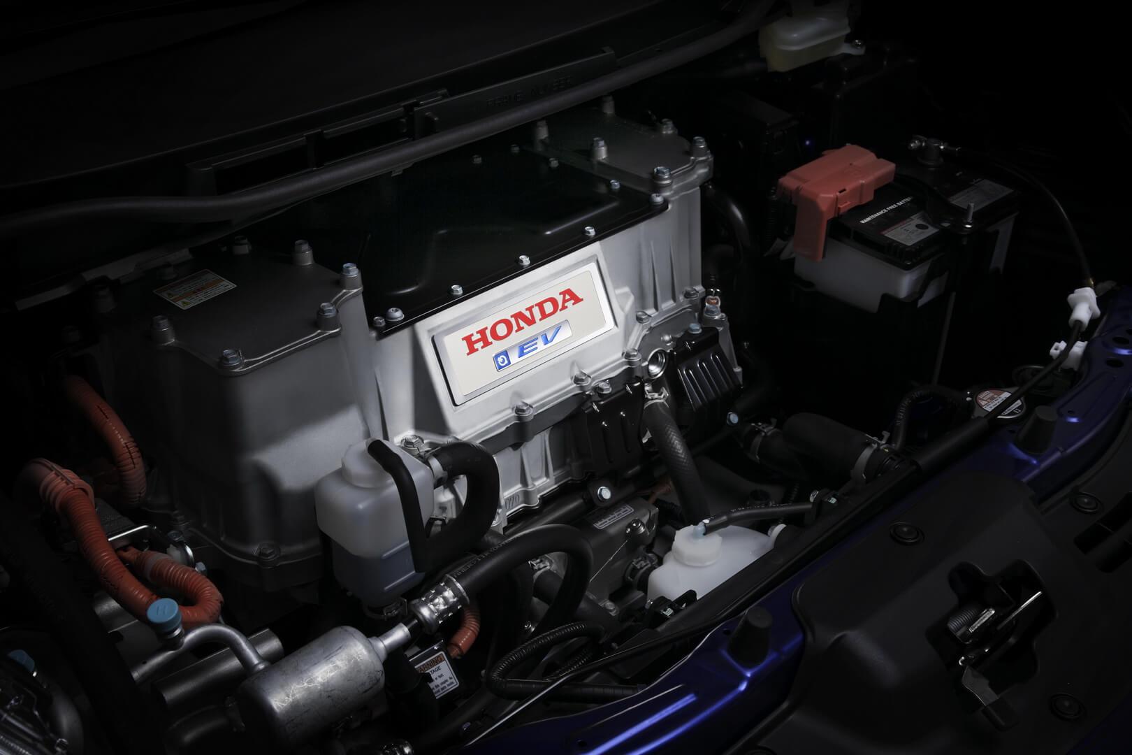 Силовая установка электромобиля Honda Fit
