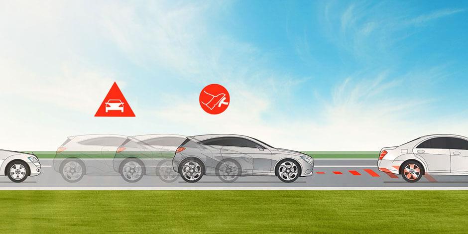 Система ATTENTION ASSIST отMercedes-Benz