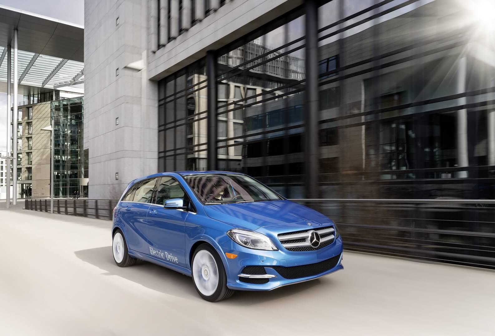 Фотография экоавто Mercedes-Benz B-Class Electric Drive