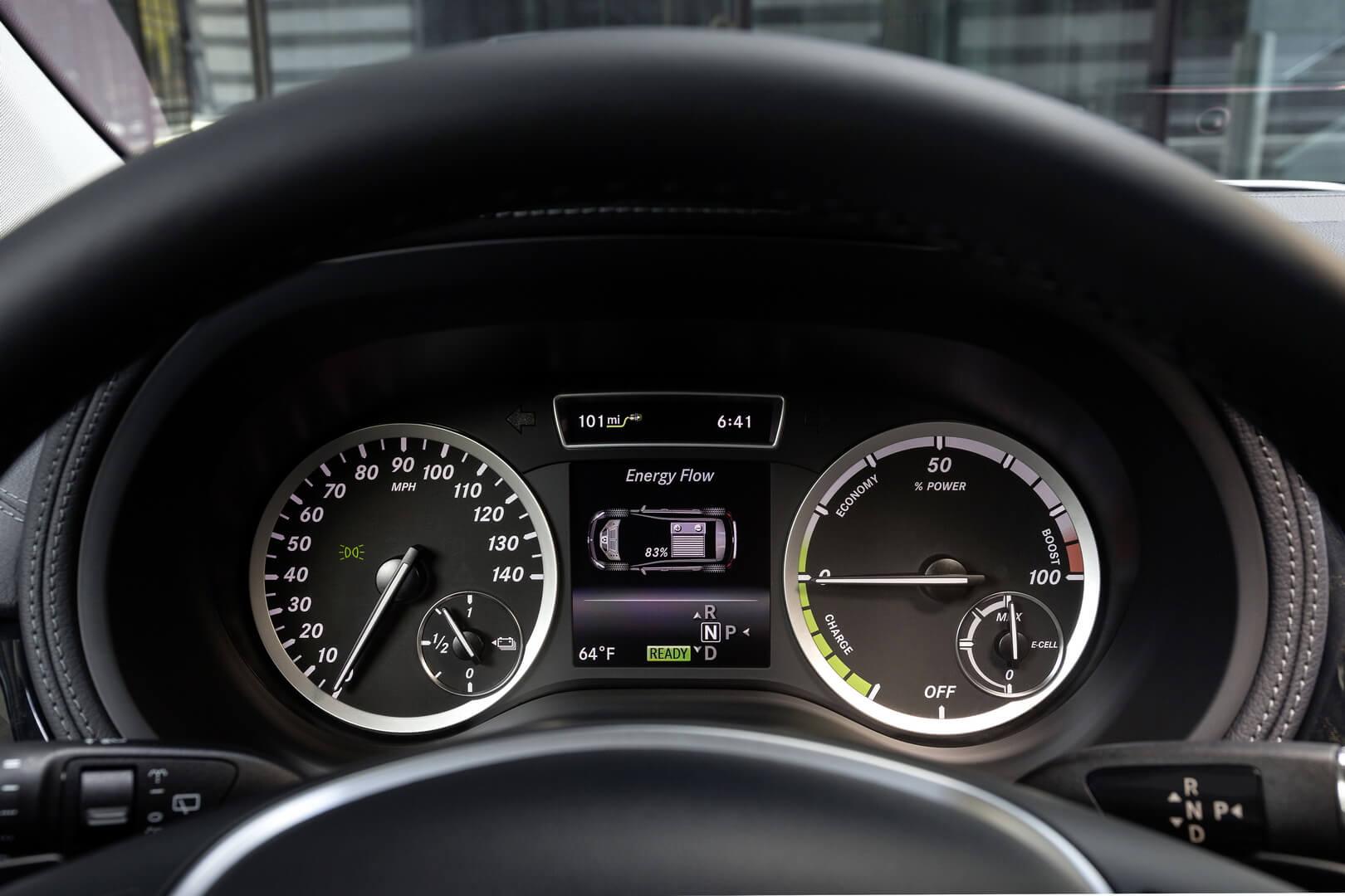 Фотография экоавто Mercedes-Benz B-Class Electric Drive - фото 14