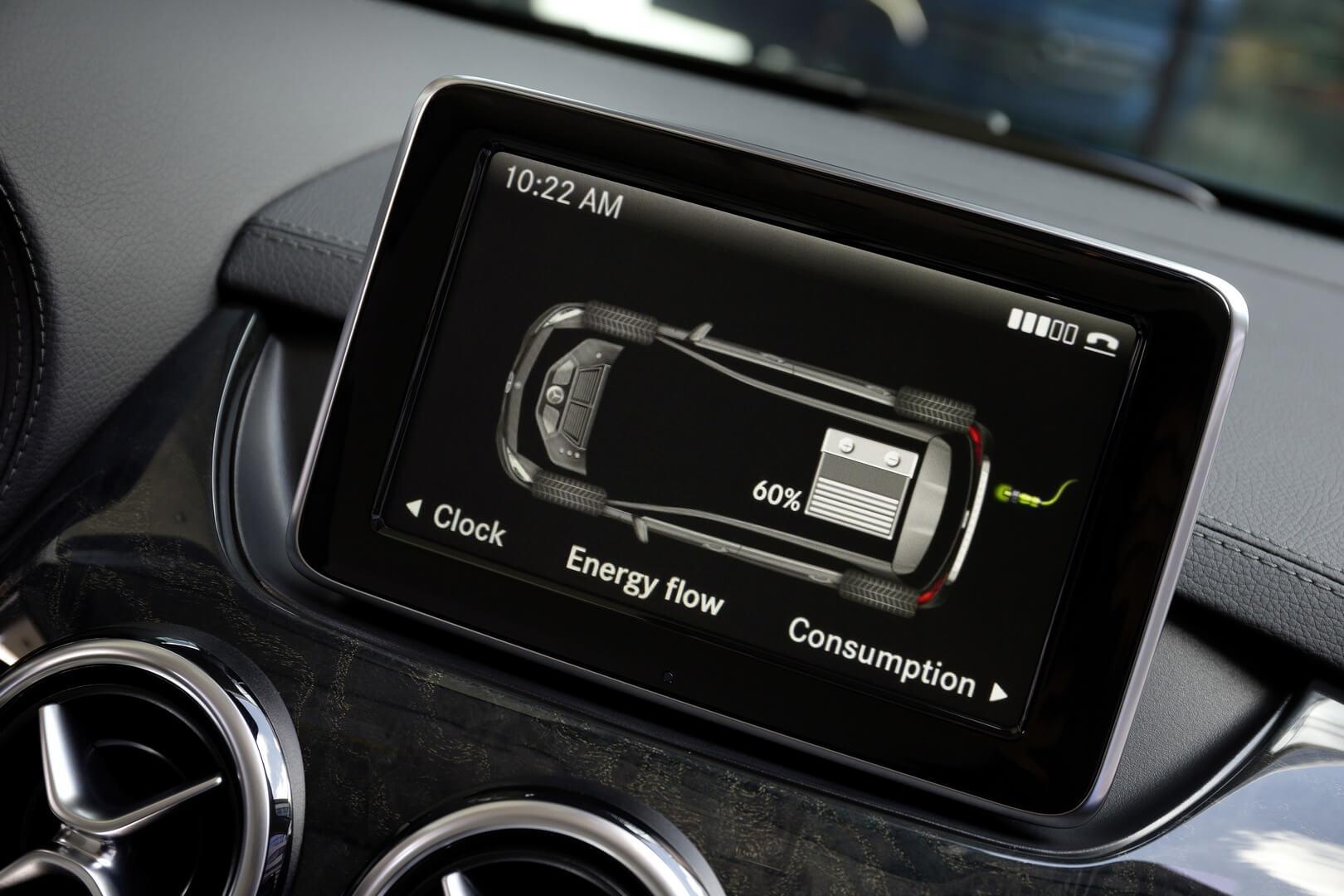 Фотография экоавто Mercedes-Benz B-Class Electric Drive - фото 15