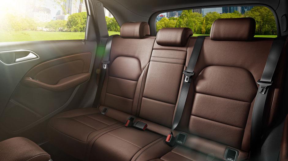 Задний ряд сидений Mercedes-Benz B-Class Electric Drive