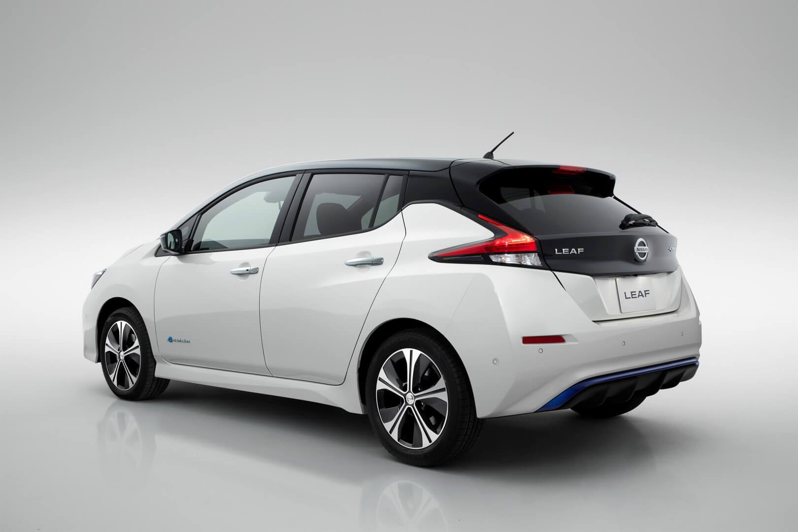 Фотография экоавто Nissan Leaf 2018 - фото 4