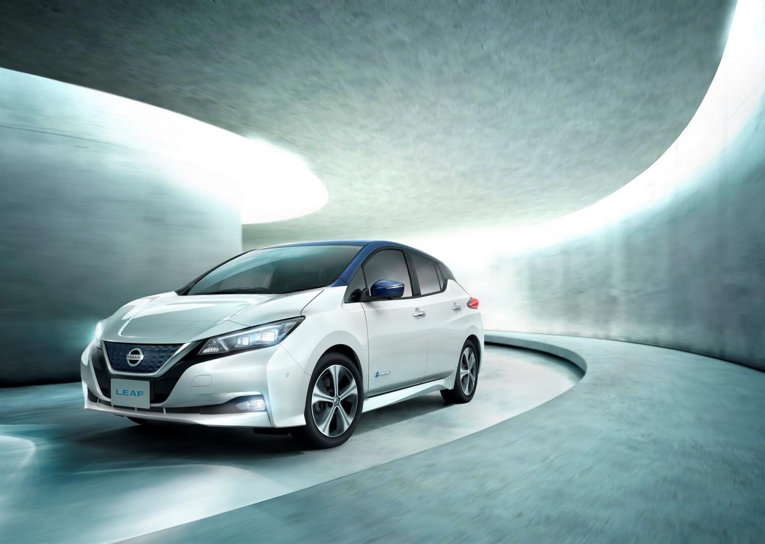Фотография экоавто Nissan Leaf 2018 - фото 21