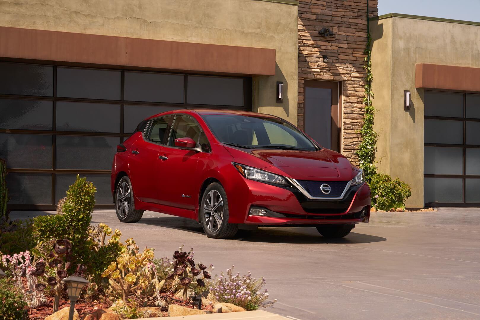 Nissan Leaf второго поколения с батареей 40 кВт•ч