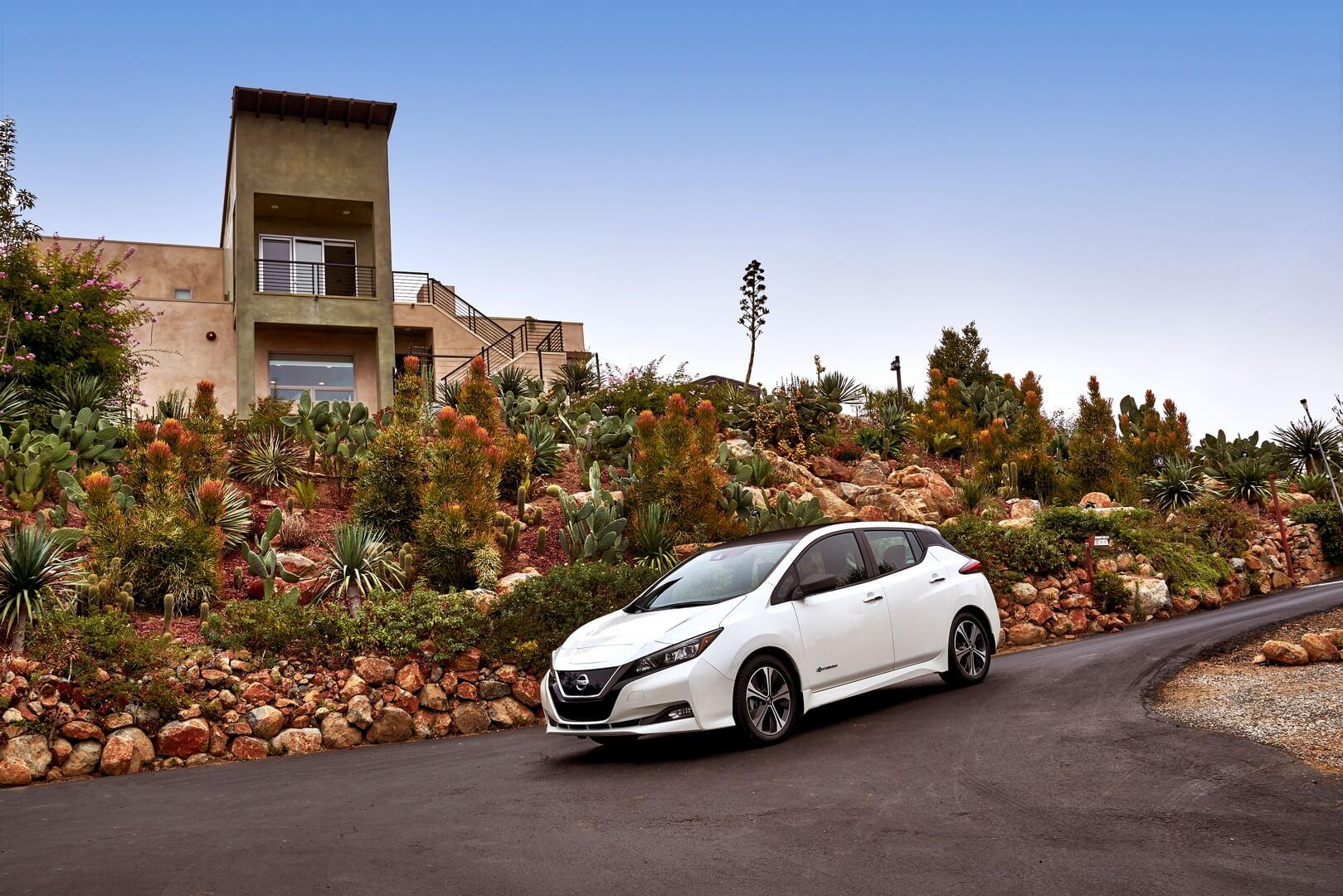 Фотография экоавто Nissan Leaf 2018 - фото 35