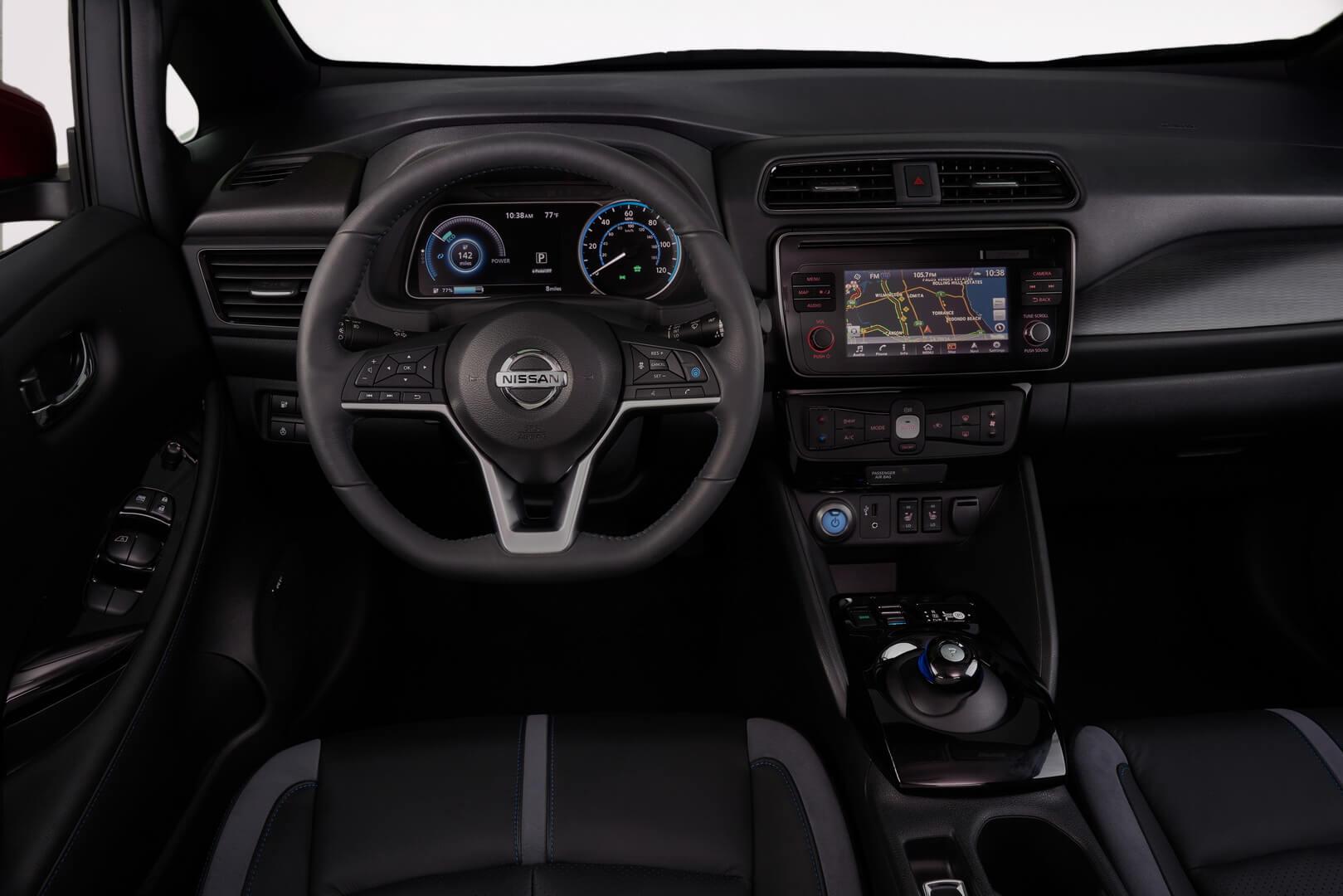 Фотография экоавто Nissan Leaf 2018 - фото 46