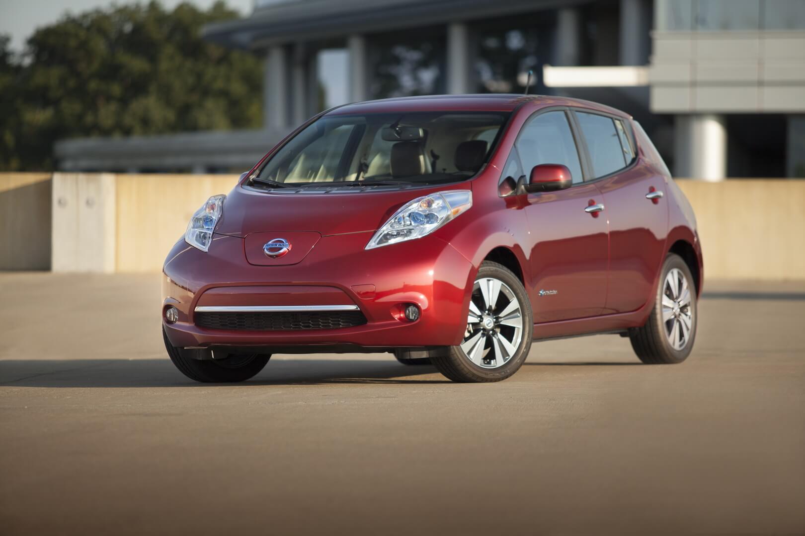 Фотография экоавто Nissan Leaf 2013 (24 кВт•ч) - фото 5