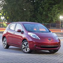Фотография экоавто Nissan Leaf 2013 (24 кВт•ч) - фото 21