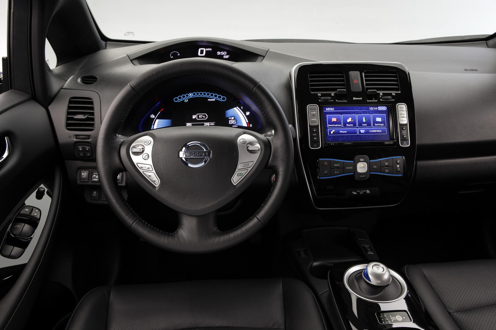 Фотография экоавто Nissan Leaf 2013 (24 кВт•ч) - фото 27
