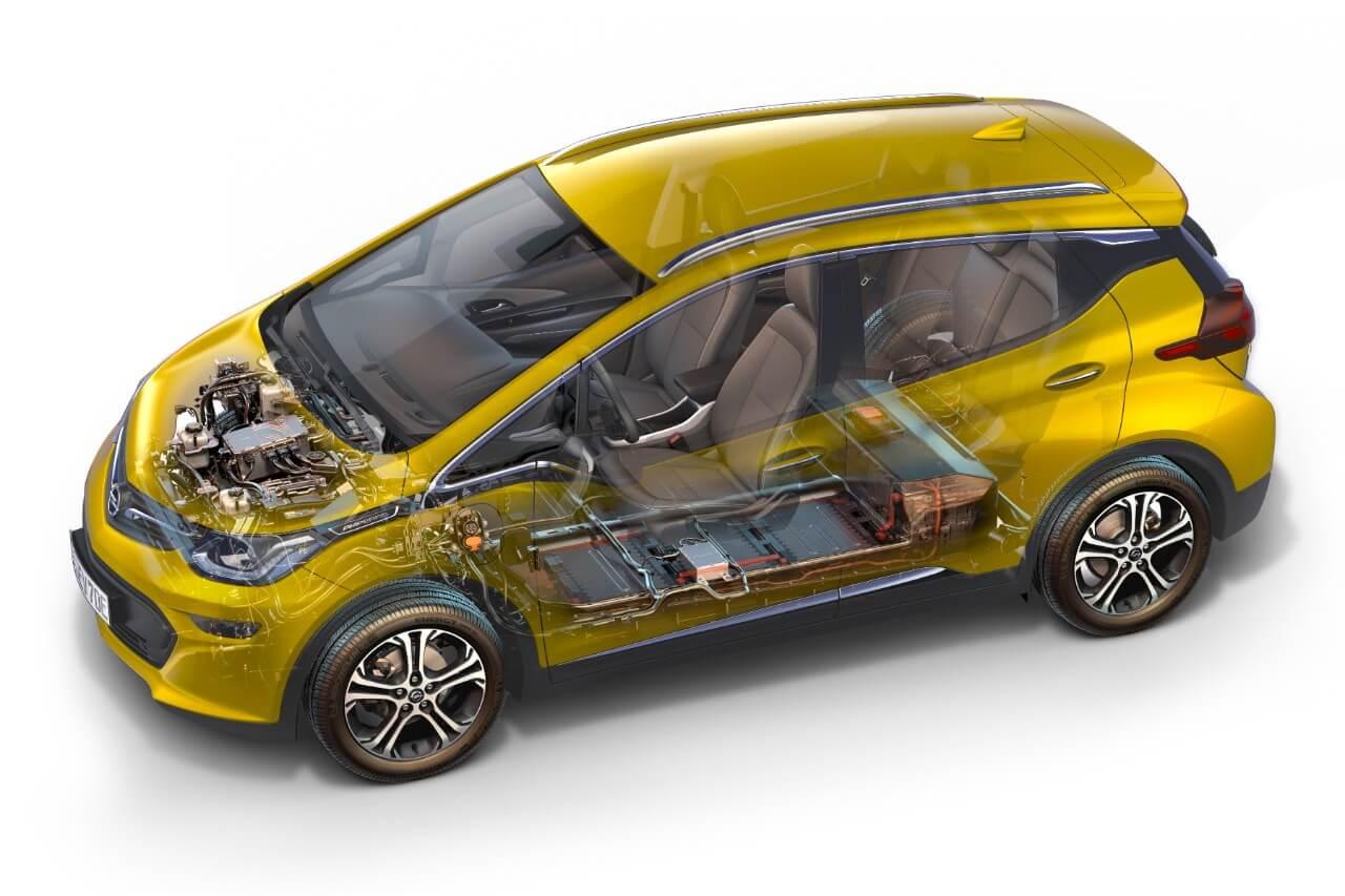 Кузов Opel Ampera-e © media.opel.com