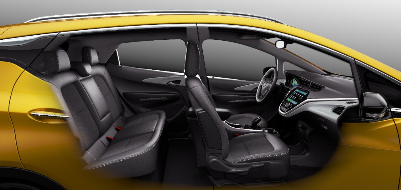 Салон Opel Ampera-e © media.opel.com