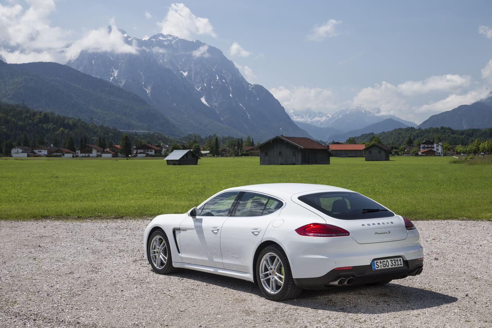 Фотография экоавто Porsche Panamera S E-Hybrid - фото 7