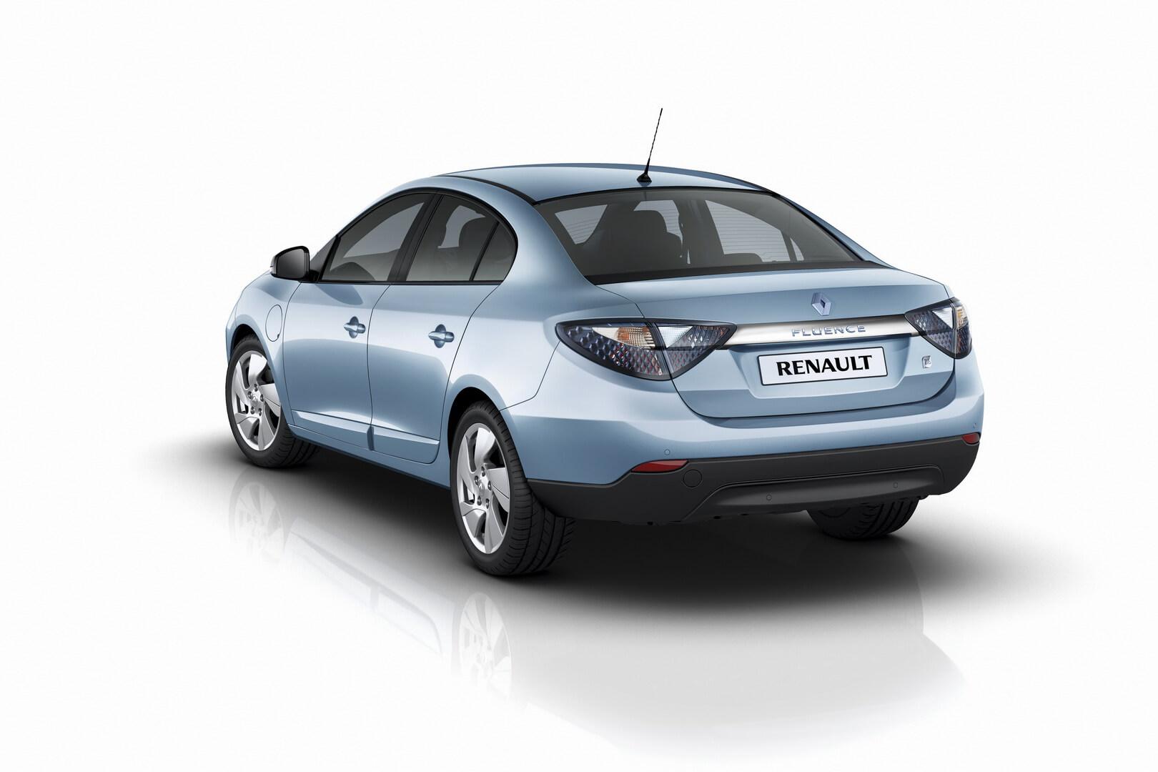 Фотография экоавто Renault Fluence Z.E. - фото 2