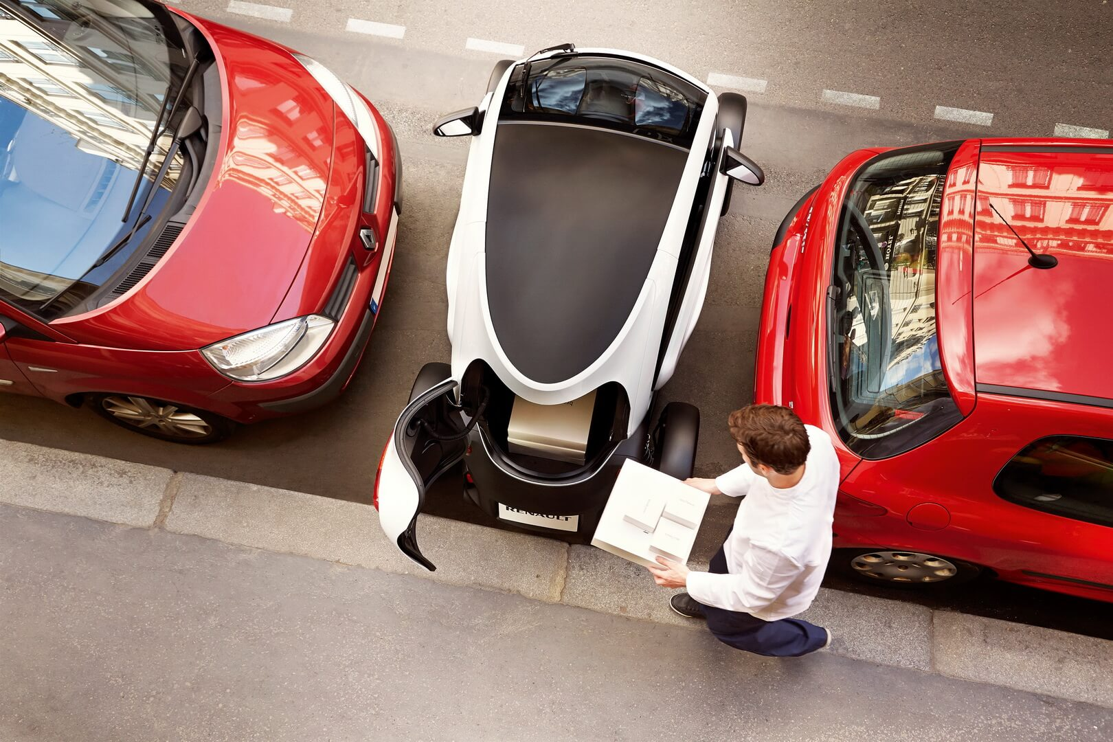 Фотография экоавто Renault Twizy - фото 23