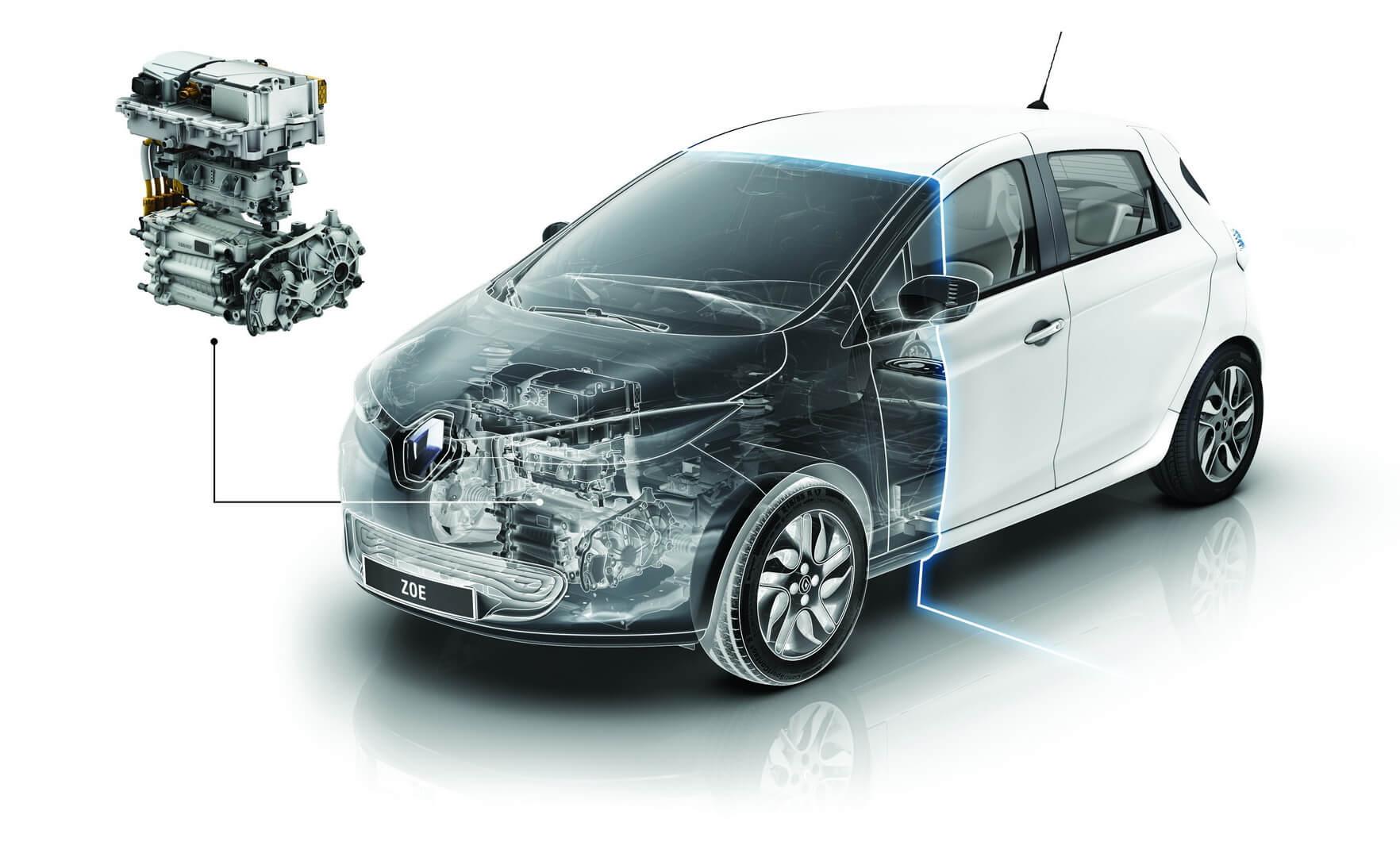Фотография экоавто Renault ZOE Z.E. 40 - фото 53