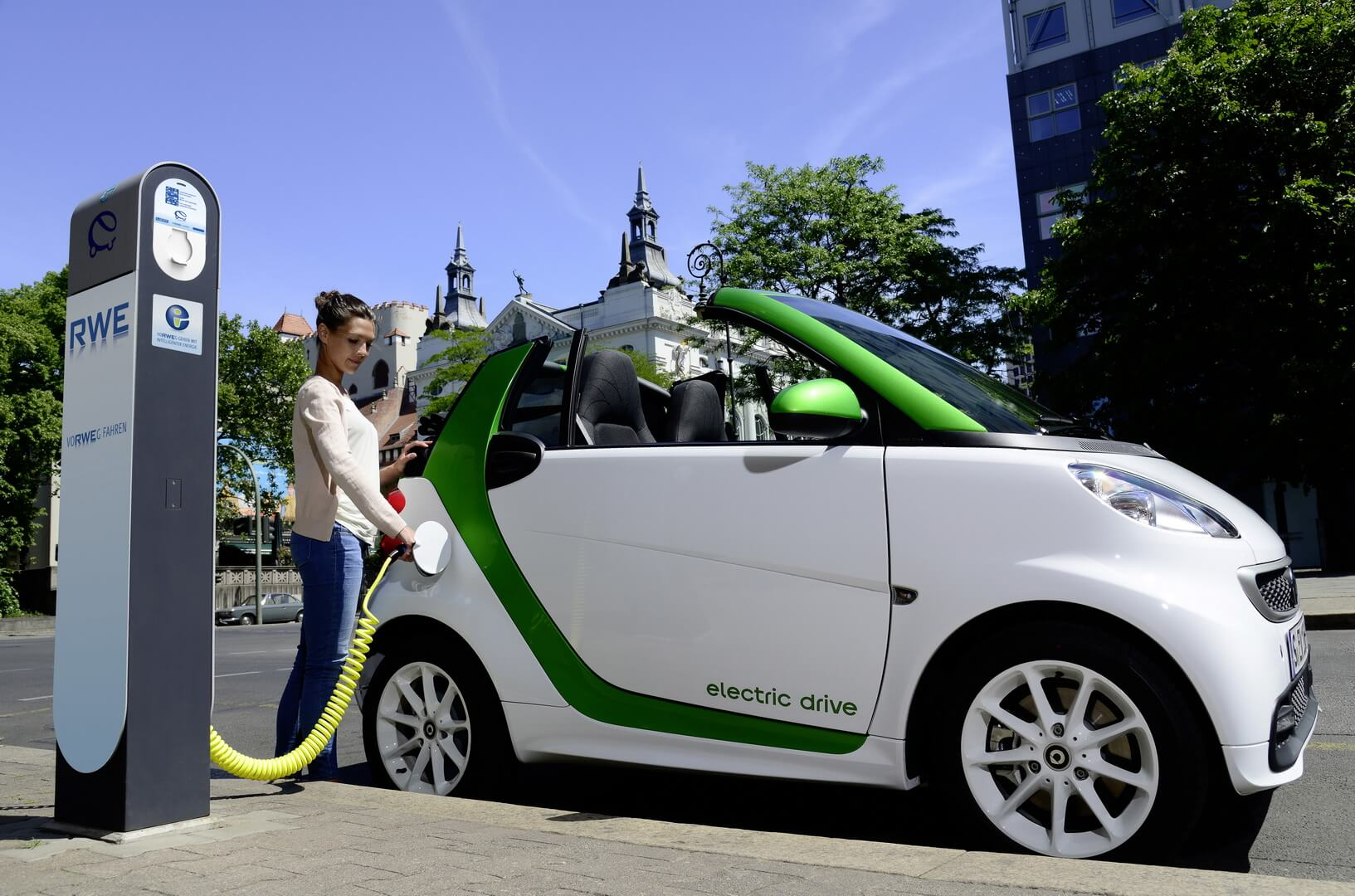 Фотография экоавто Smart Fortwo Electric Drive 2012 - фото 19